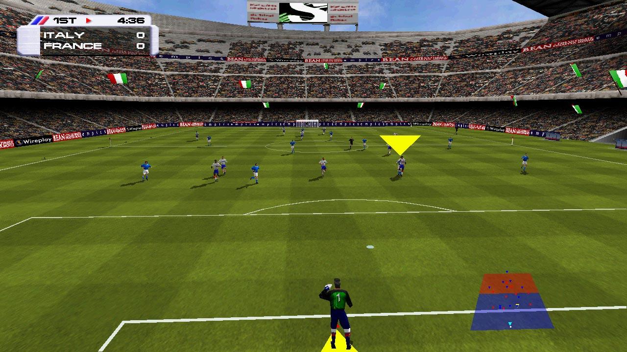 Actua Soccer 3 Juego De Futbol Pc Abandonware Jugar Es Gratis