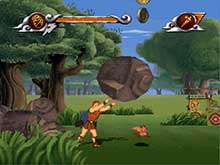Disney's Hercules Action Game