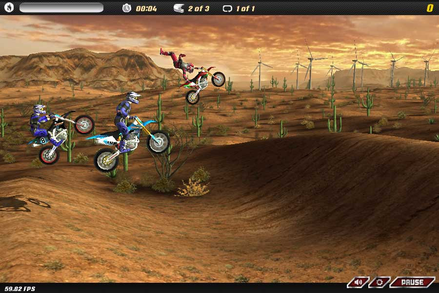 motocross browsergame